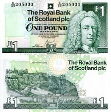 Scotland 1 Pound Banknote World Paper Money Currency Pick p351e 2001 Lord Ilay