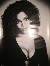 Janet Jackson 1997 Virgin promotional poster, 1997, 18x24, Ex, busty, cleavage
