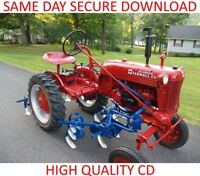 FARMALL CUB IH CLASSIC TRACTOR MANUALS|REPAIR|SERVICE|WORKSHOP|PARTS|OPERATOR