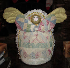 Guardian Christmas Angel Quilted With Stand