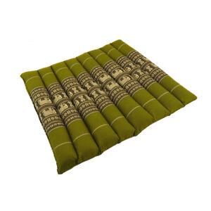 Small Meditation/Yoga Mat - Green Elephant DM18