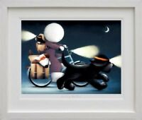 DOUG HYDE  'SUNDAY RIDERS'  NEW  FRAMED LIMITED EDITION GICLEE PRINT