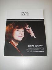 Catalogue vente PIERRE BERGÉ / RÉGINE DEFORGES Tableaux Point de croix Céramique