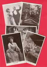 More details for ten random edwardian real photo actress actor stage theatre postcards mixed