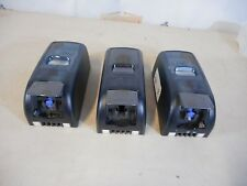 SET OF THREE WALL MOUNT SOAP DISPENSERS