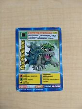 MoriShellmon MP-93 Rare French Digimon Card From Mega Pack