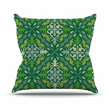 """Throw Pillow 16 by 16-Inch Kess In House Miranda Mol """"Yulenique"""""""