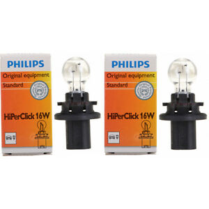 2 pc Philips 12184C1 HiPerClick Turn Signal Light Bulbs for Electrical aj