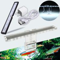 LED acuario Fish Tank Lights iluminación Stent madera Mascota Caja lámpara