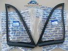 VOLVO 673459 673460 P1800 S/E VENTILATION WINDOWS RUBBER SEALS L+R GENUINE!