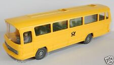 MICRO WIKING HO 1/87 BUS MERCEDES O 302 post poste ptt avec conducteur bis