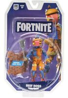 "FORTNITE SOLO MODE BEEF BOSS 4"" ACTION FIGURE HAMBURGER By JAZWARES - IN HAND!"