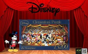 Clementoni Masterpiece Puzzle - Disney - Mickey Mouse - Orchestra - 13200 Pieces