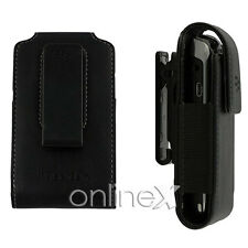 Funda Piel Pinza PU Blackberry 9360 Color Negro a1015