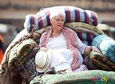 PHOTO INDIAN PALACE - JUDI DENCH - 11X15 CM #1C