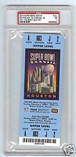 2004 SUPER BOWL PSA 7 FULL TICKET VERY RARE A BEAUTY $$