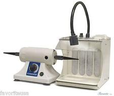 Foredom Bench Lathe With Filter Hood 220v K3280 For Dental Lab Or Jewelry Shop