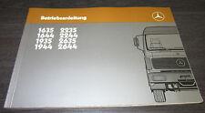 Manuale di istruzioni CAMION MERCEDES 1635 1644 1935 - 2644 NG 80 nuova generazione 1985