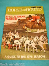 HORSE and HOUND - SHOW NUMBER - MARCH 7 1975