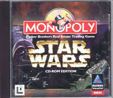 Star Wars: Monopoly CD-ROM (PC, 1997, Hasbro Interactive) - Free USA Shipping!