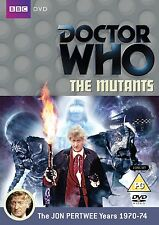 Doctor Who the Mutants [DVD] [1972] DR IS Jon Pertwee con Katy Manning NUEVO