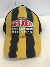 Papa Johns Pizza Special Edition Black And Yellow With Signature PRIORITY MAIL