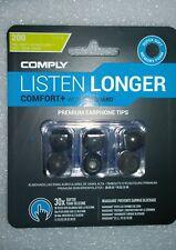 BRAND NEW COMPLY COMFORT+ WAXGUARD PREMIUM EARPHONE TIPS T-200 SIZE L US SELLER