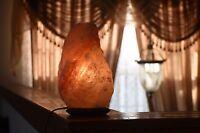 New Natural Himalayan Rock Salt Lamp 4-6 lb Ionic Light Air Purifier Dimmer cord
