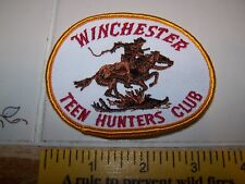 WINCHESTER TEEN HUNTERS CLUB & TEEN HUNTERS 25 STRAIGHT PATCH