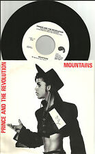 PRINCE  Mountains RED LETTERING ORIGINAL USA 7 INCH vinyl Record 1986 728711 USA