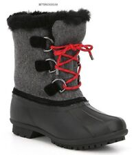 ANTONIO MELANI women's LAYTON DUCK BOOTS COLD WEATHER WINTER Waterproof Gray 8 M