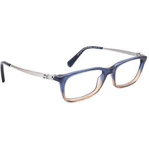 Coach Eyeglasses HC 6110 5489 Denim Taupe Glitter Gradient Frame 50[]16 140