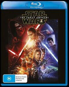 Star Wars - The Force Awakens (Blu-ray) Australia Region B
