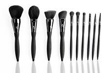 10 Pcs High Quality ProfessionalBRUSH SET/POWDER Brush/FOUNDATION/CONTOUR BRUSH