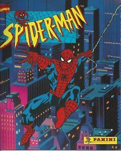 Empty Panini Marvel Comics Spiderman  Collectibles Stickers Album