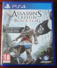 PS4 - ASSASSIN'S CREED 4 / BLACK FLAG - Version Française - PEGI 18