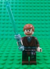 *NEW* Lego Star Wars Obi Wan Minifig Figure Blue Light Sabre Fig x 1