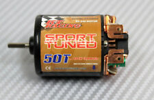 RC 1/10 Sport Tuned Motor For RC TRUCK Rock Crawler 50T High Torque + Bonus Lead
