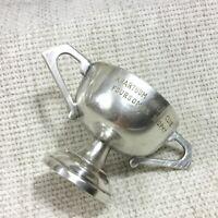 Ancien Khartoum Golf Club Miniature Trophy Tasse Soudan Vintage Souvenirs