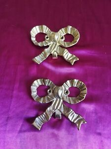 Two Bow Hangers The Bombay Company brass