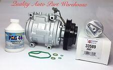 95-98 Toyota T100 3.4L; 00-04 Tundra 3.4L A/C Compressor kit w/1 Year Warranty