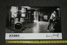 VINTAGE TAMA DRUMS PROMOTIONAL POSTER KENNY ARONOFF