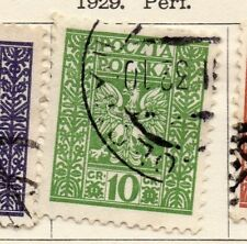 Poland 1929 Early Issue Fine Used 10gr. 133451