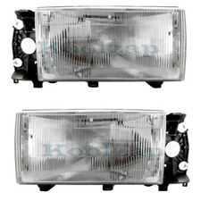 Volvo 740 940 Headlight Headlamp Front Head Light Lamp Left Right Side Set PAIR