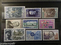 LOT 001 FRANCE, FRANKREICH, timbres années '60, neufs** LUXE, VF MNH STAMPS