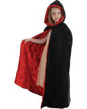 Morris Costumes Black Velvet Halloween Cloak Vampire Bloodsucker Cape. UR26148