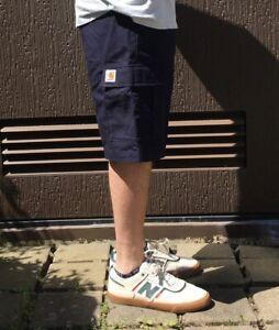 Carhartt WIP Aviation Cargo Bermuda Short kurze Hose Herren blau