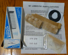 Jaeger HO #5700 Flat Car Load Kit 60' (Hanel Lumber Co.)
