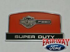 OEM Genuin Ford Parts Super Duty F250 Harley Davidson Console Lid Emblem NEW