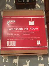 Pantalla de Forma de Tambor 40cm Kit de fabricación de 2-3 días de entrega por correo privado
